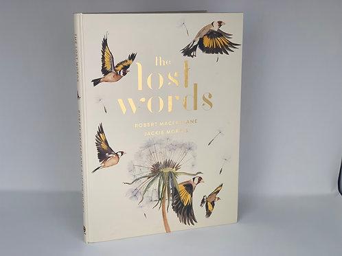 The Lost Words by Robert Macfarlane, Illustrated by Jackie Morris