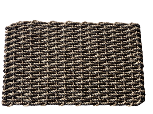 Dormat: Desert Sand and Charcoal -Small