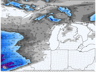 ANOTHER ROUND OF SNOW SUNDAY...