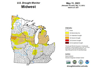 DROUGHT STRICKEN AREAS STRIKE OUT....