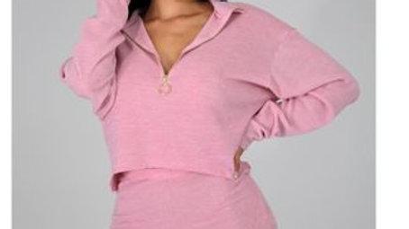 Pink 3pc Short/Mask Set