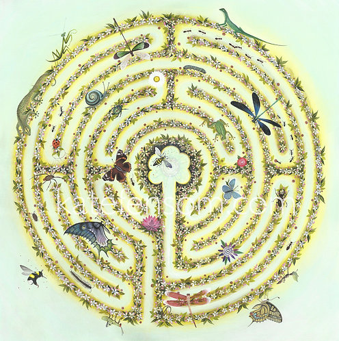 The Apple Blossom Labyrinth