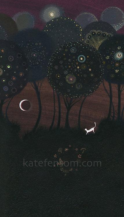 The Mooncat and the Mushroom Circle