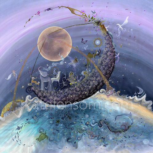The Moonflower Swingboat of Infinite Possibility