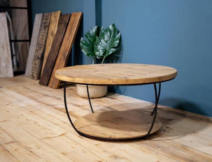 Round Bar Coffee Table
