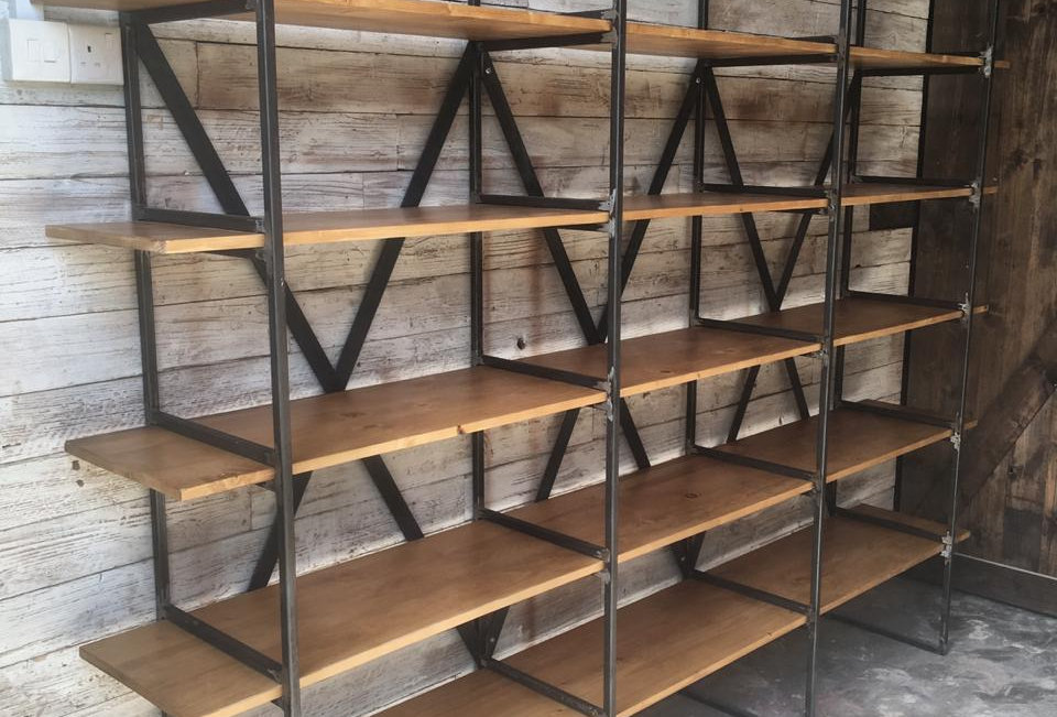 Industrial Shelving Unit - 101