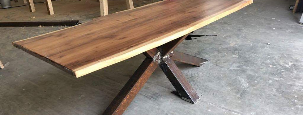 Live Edge Look Table - 101