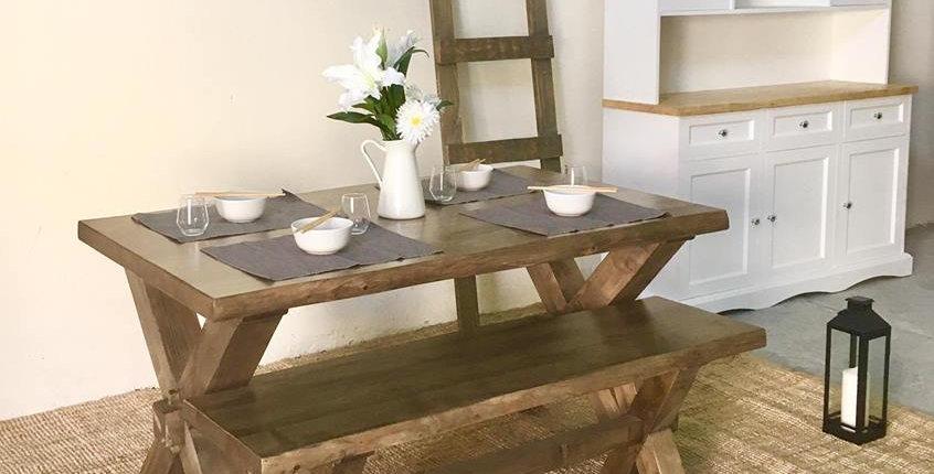Chunky Farmhouse Dining Set