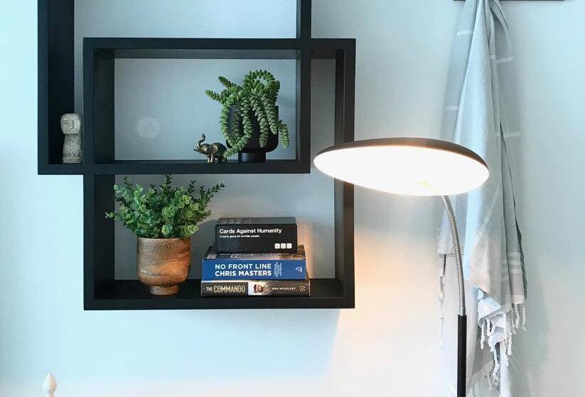 Cube Style Floating Shelf