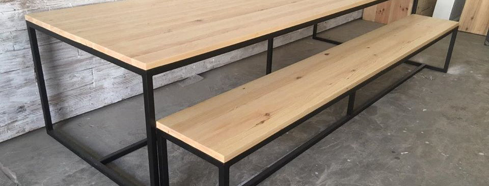 Industrial Dining Table Set - 101