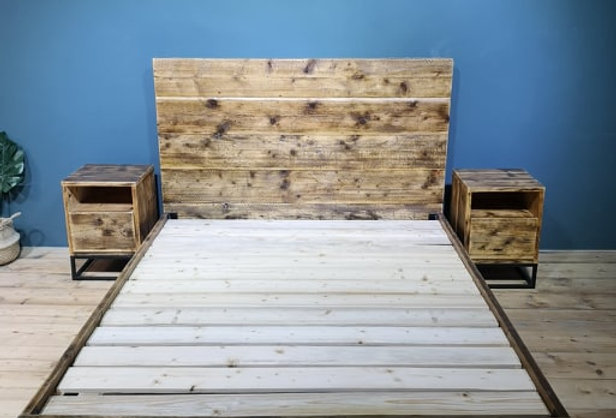 Reclaimed Wooden Bed - 101