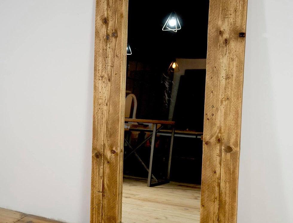 Reclaimed Floor Mirror