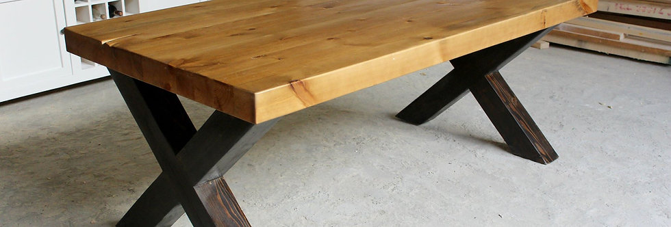 Chunky X-Legs Table