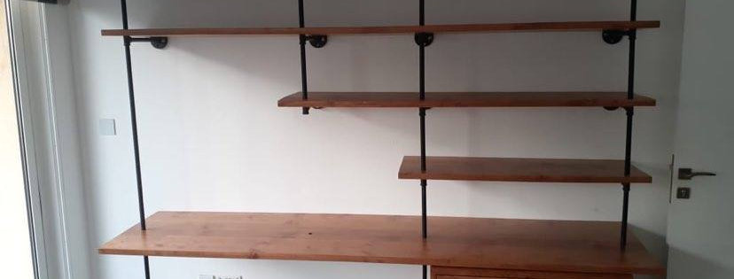 Industrial Shelving Desk - 101