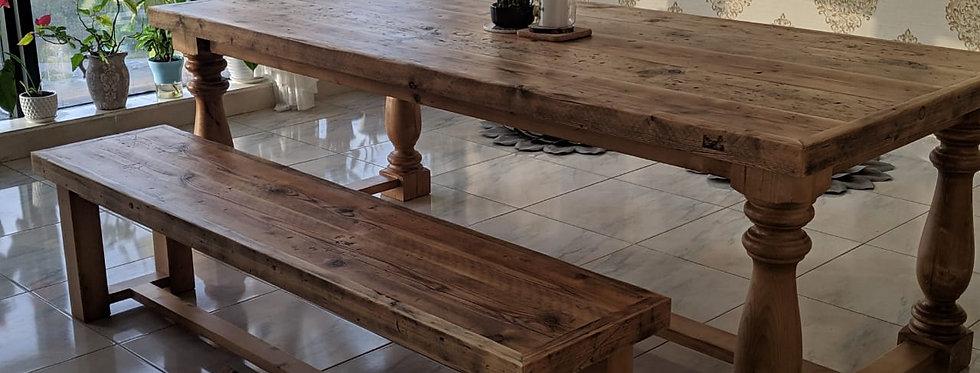 Reclaimed Farmhouse Table
