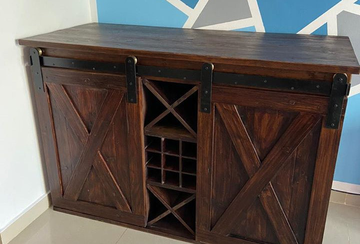 Reclaimed Bar Unit - 101
