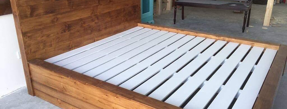 Curvy Bed Frame - 101