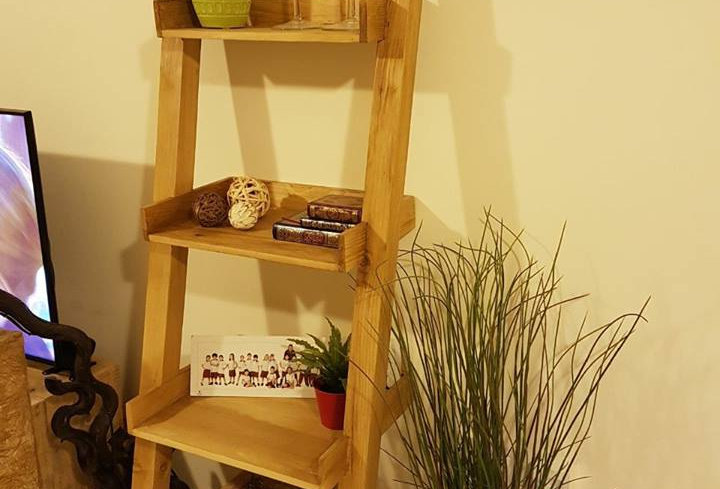 Ladder Shelf -101