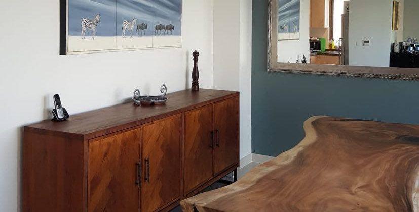 Sideboard with Herringbone Door