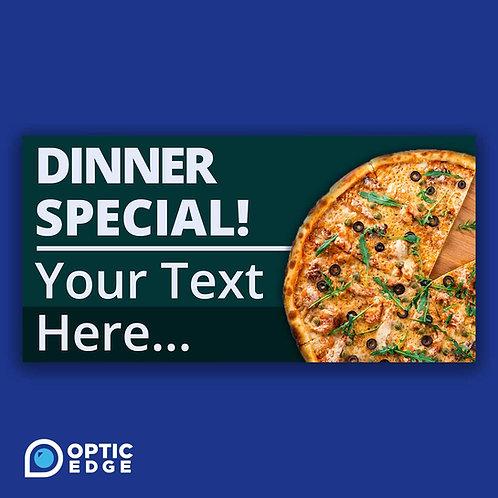 Editable Dinner Special