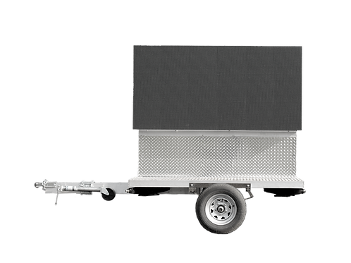 3' x 6' Double Sided Outdoor Digital Trailer Unit