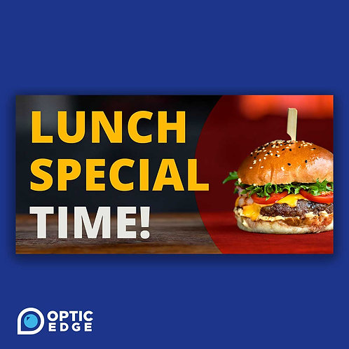 Editable Lunch Special