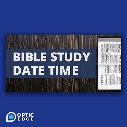 Editable Church Study Slide