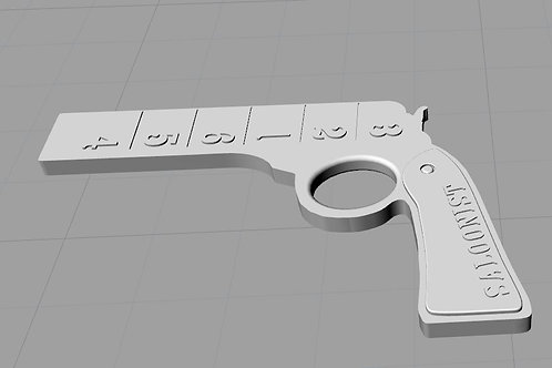 3D Printable Gun Grit Meters