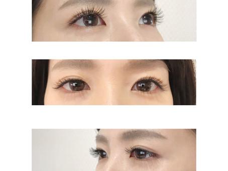 瞳が綺麗に◯
