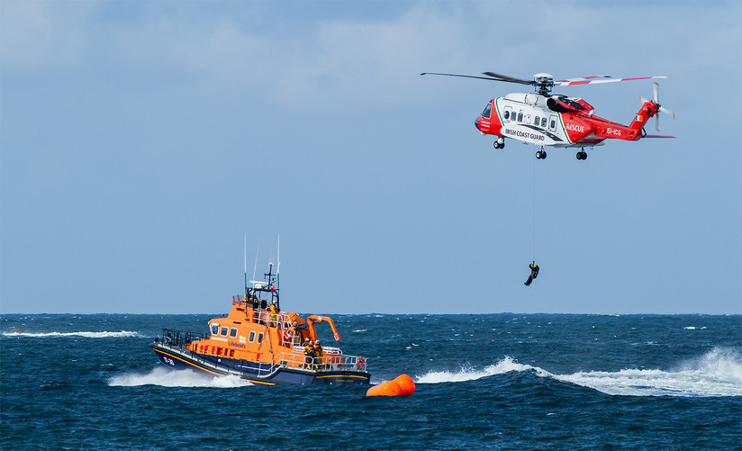 PDI - Liz Tullett by Air Sea Rescue (12 marks)