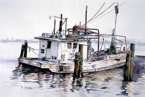 Shrimp Boat in Pass Christian Habor