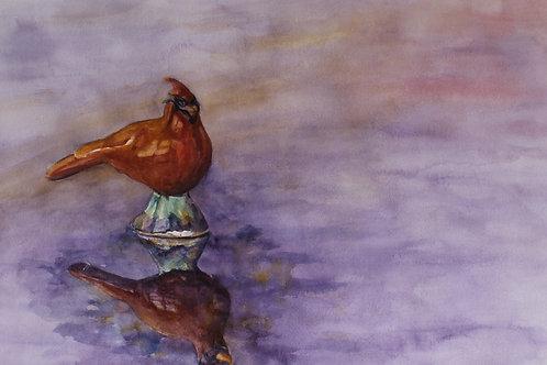 Wolfe Pottery Cardinal
