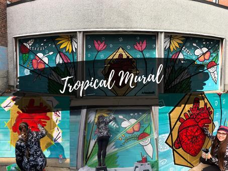Zentangle Tropical Murals