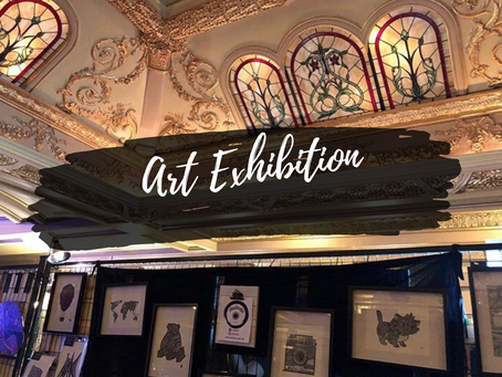 Art Exhibition at Théâtre Rialto