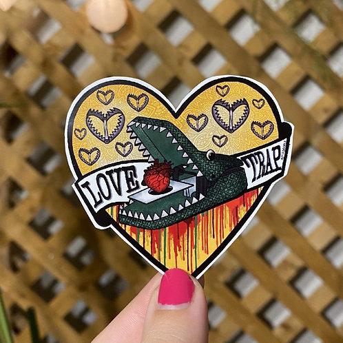 Love Trap Sticker
