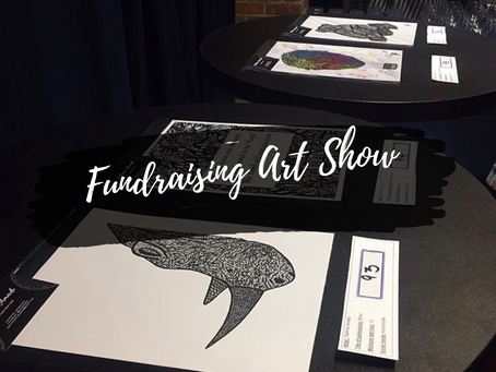 Fundraising Art Show of Art Therapy for Mental Illness