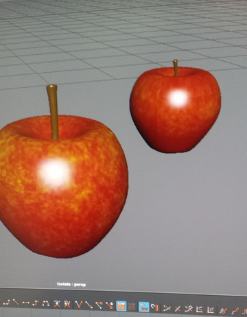 Apple Model - Texture