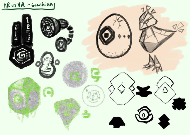 VRsus gARdian - Concept Design 01