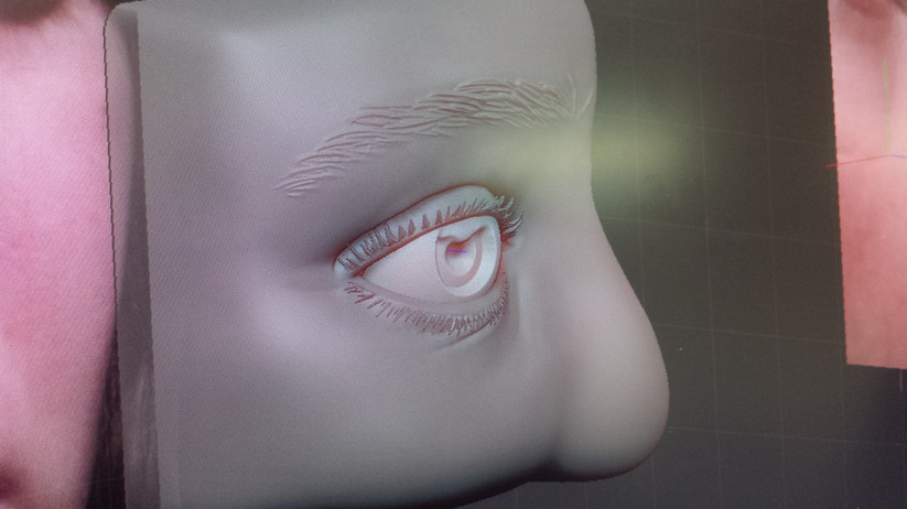 Zbrush Face Sculpt - Eye