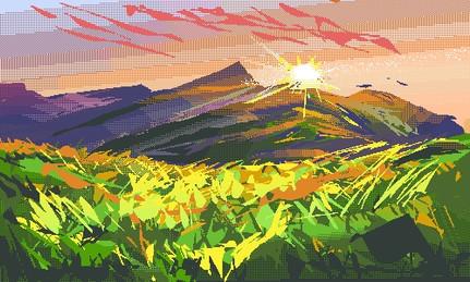 Pixel Landscape 1