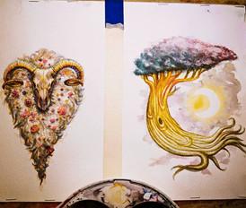 Flora Skull, Dreamer Tree