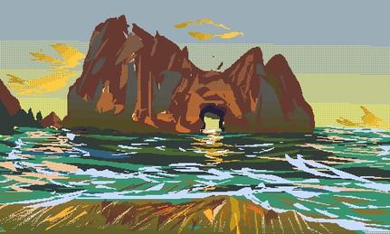 Pixel Landscape 2