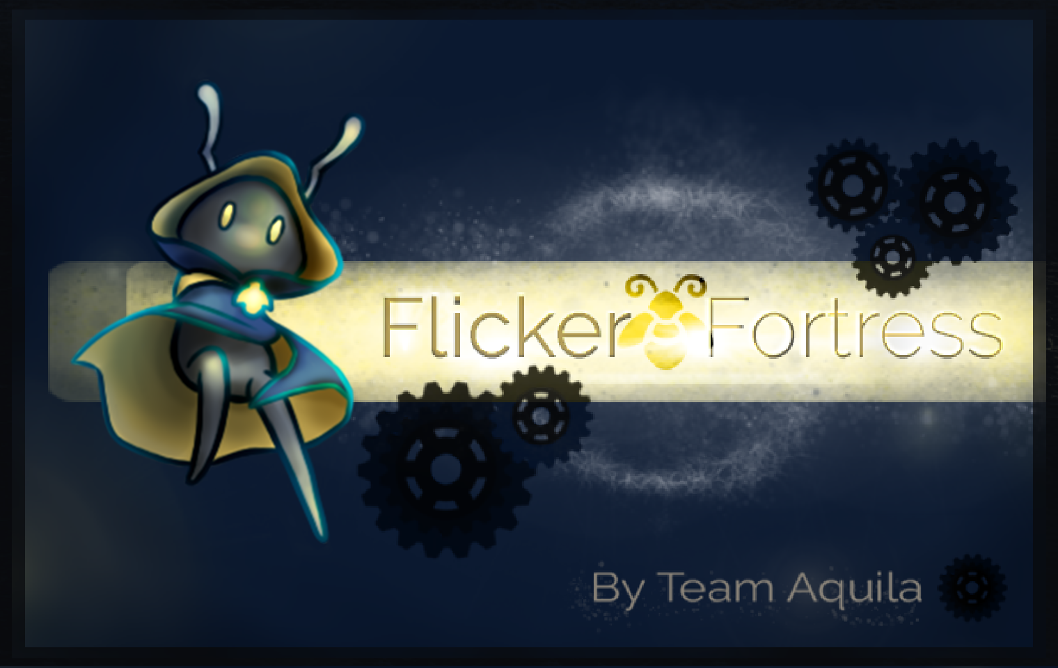Flicker Fortress - Game Banner