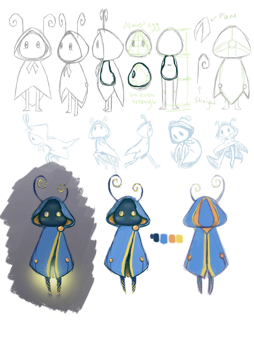 Flicker Fortress - Character Concept 02