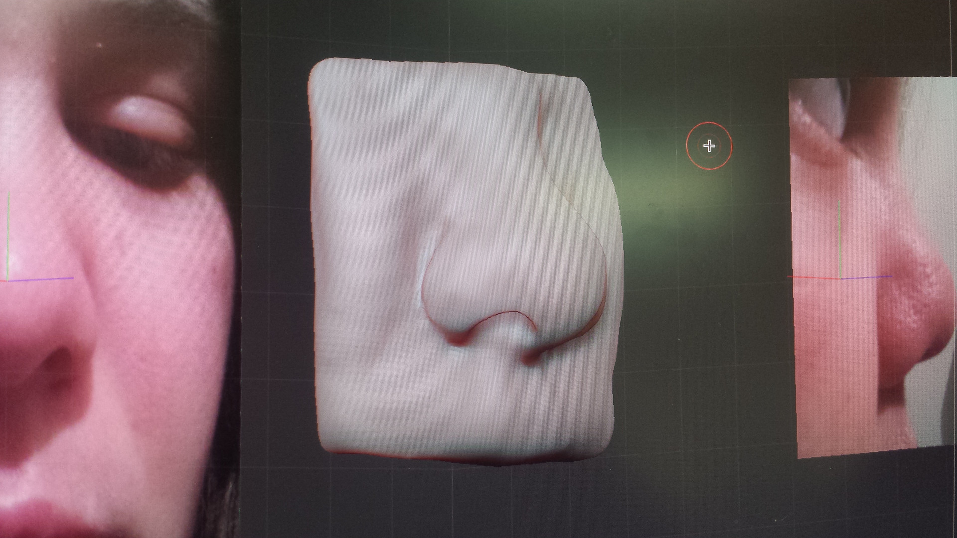 Zbrush Face Scupt - Nose