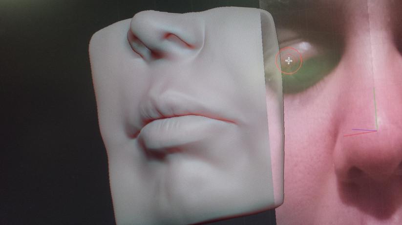 Zbrush Face Sculpt - Mouth