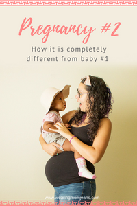 Second Pregnancy Being Different From The First
