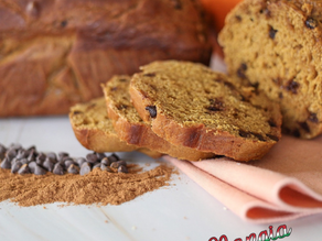 Healthy (Chocolate Chip) Pumpkin Bread