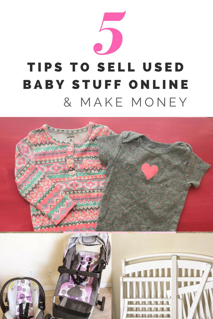 5 Easy Ways To Used Baby Stuff Online Make Money