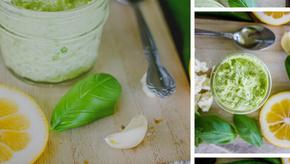 Kickin' Garden Pesto | Jalapeno Feta Recipe